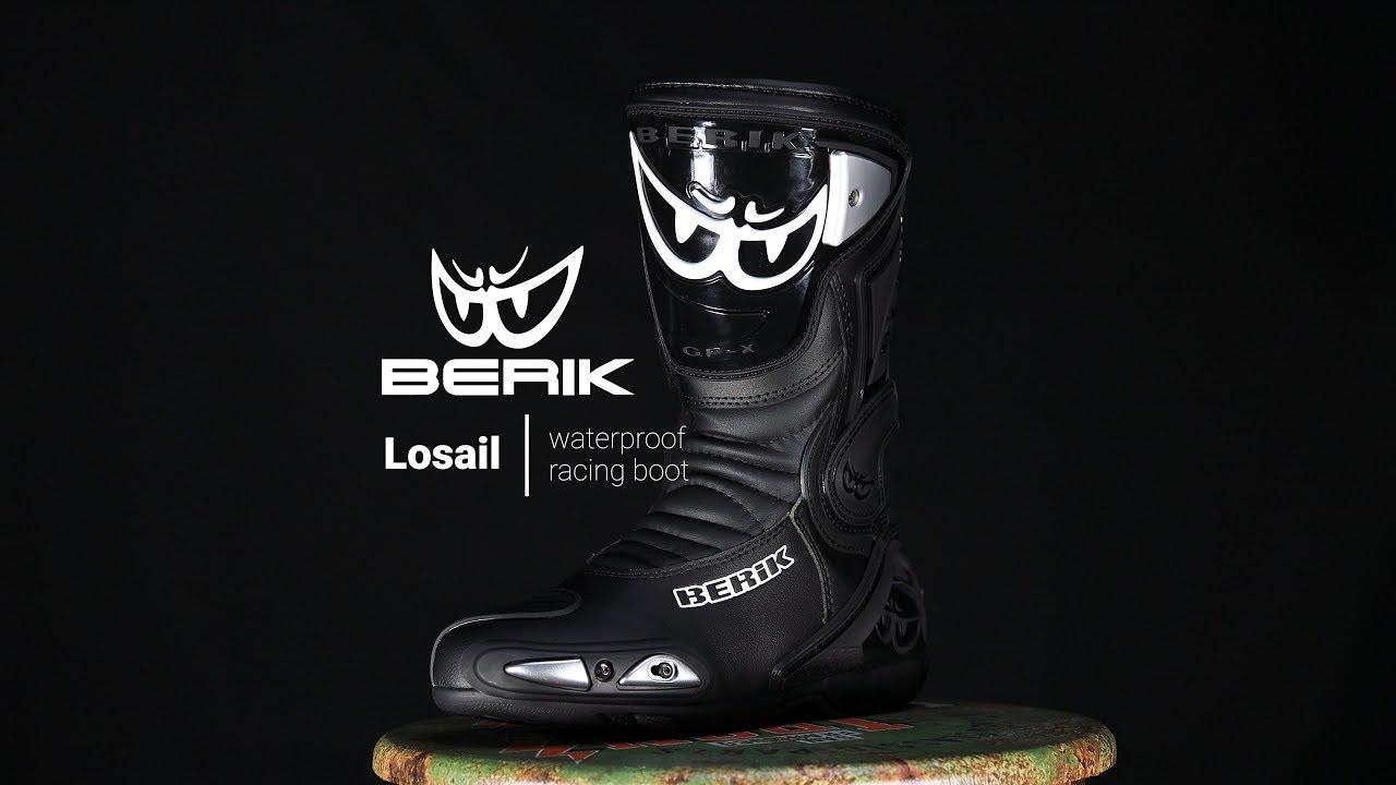 Berik Losail Camo Bottes de moto