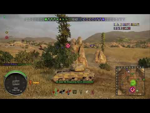 "T20 ""Camping bush"" - 5.5k+ Scouting Damage Mastery | WoT Console"