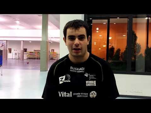 Rubén Viso, jugador Fundación Vital Zuzenak 17-18-Previa Debut Liga 17-18