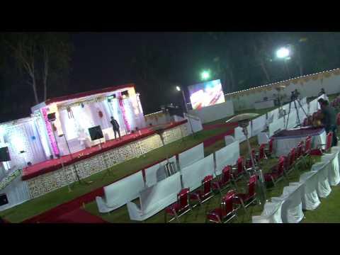 Reception decoration & karaoke singer & flowers work& etc organizer By B j events