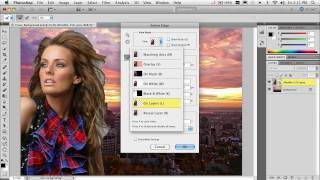 Compositing and Selecting Hair in Photoshop CS5