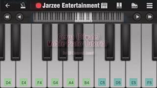 Gerua (Dilwale), Arijit Singh - Easy Mobile Perfect Piano Tutorial