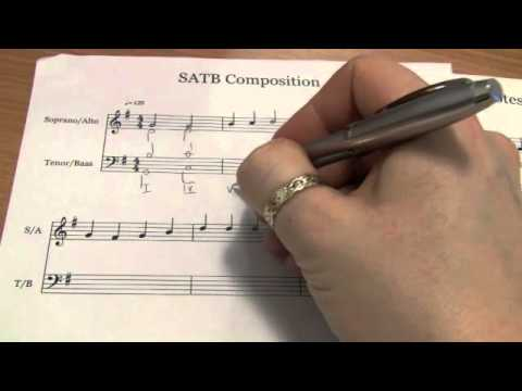 Music: Four-Part Harmonisation tutorial