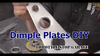 DIY Dimple Plates - No fancy tools.
