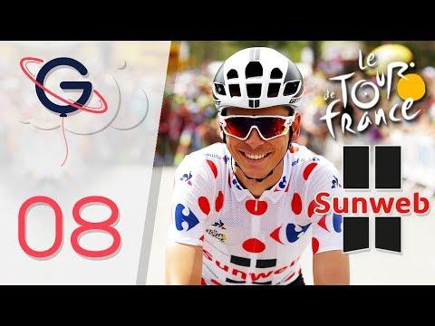 TOUR DE FRANCE 2017 : TEAM SUNWEB FR #8 (Etape 17 et 18)