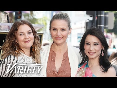 Charlie's Angels Reunion at Lucy Liu's Walk of Fame Ceremony