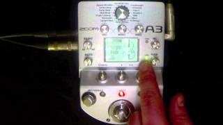 Zoom A3 Acoustic Centre Tv