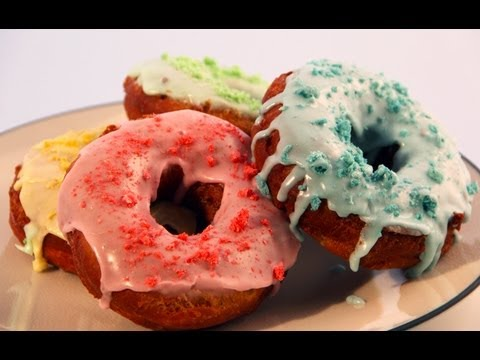 Froot Loops Donuts -- Funny Yolk with George Duran