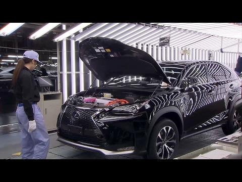 Lexus NX production at the Miyata Plant, Japan