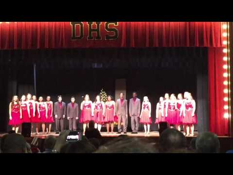 """O Holy Night"" performed by Dothan High School Show Choir 2015"