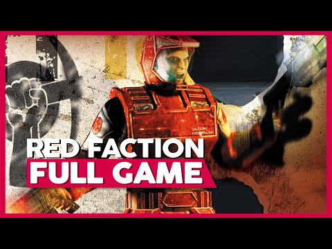 Red Faction 1 (PS4) | Full Gameplay/Playthrough | No Commentary