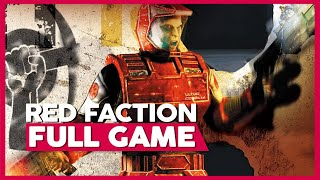 Red Faction | PS2 | Full Gameplay/Playthrough | No Commentary