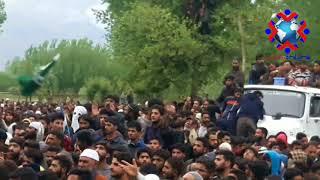Thousands attend funeral prayers of slain Asst Professor KU Dr Mohd Rafi who was killed in encounter