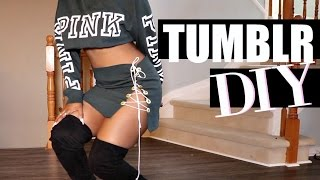 diy sweater into bomb a two piece tumblrtings