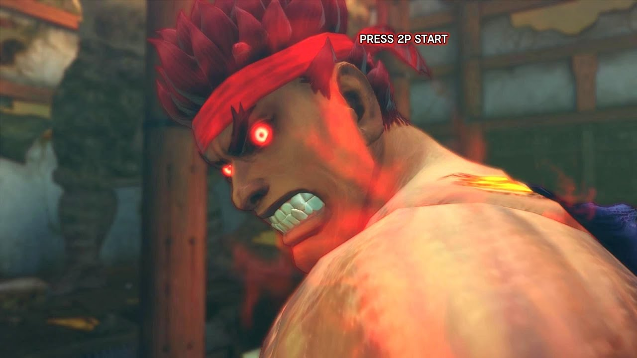 Super Street Fighter Iv Ae Pc Evil Ryu Playthrough Secret Oni Boss Fight 2 2