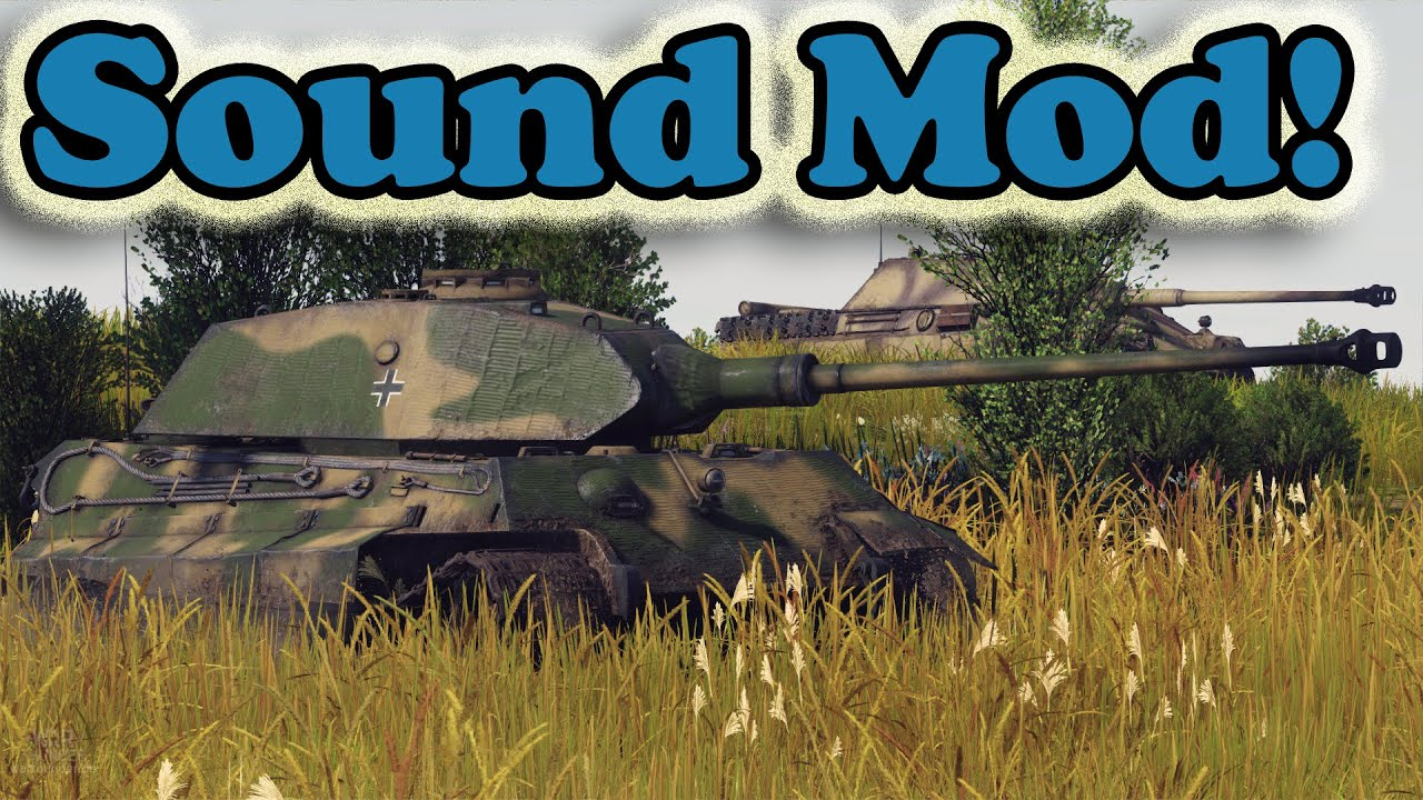 War thunder how to download sound mod