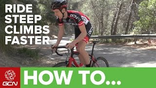 How To Ride Steep Climbs Faster | GCN