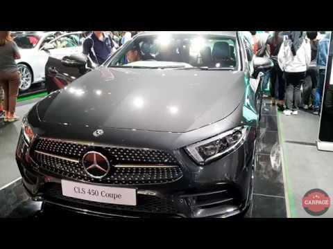 2018 Mercedes-Benz CLS 450 Coupe - Walkaround   KLIMS 2018  CarPage