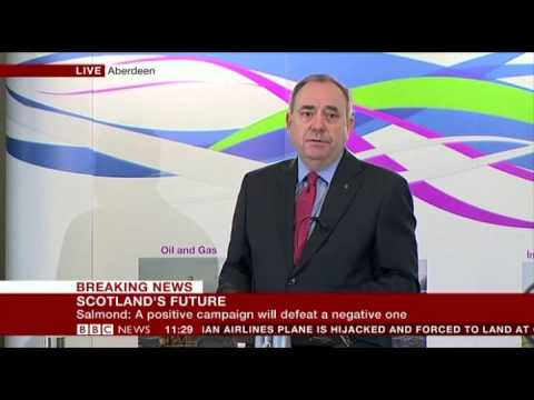 Yes Scotland Alex Salmond  Scots will not be bullied by England Aberdeen  17 Feb 2014