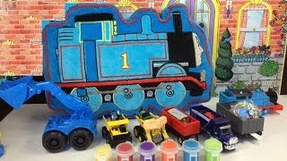 Thomas and friends Engines Percy, Toby, James, Jack, Edward are Hidden