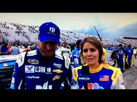 Dale Jr Post Race Interview New Hampshire