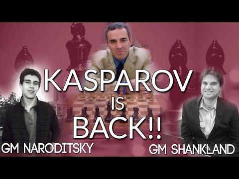 Kasparov is Back 💪 with GMs Naroditsky and Shankland! (Webinar Replay)