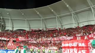 VAS A MORIR VAS A LLORAR SE VA  A CAER LA POPULAR  AMERICA VS BOGOTA FC