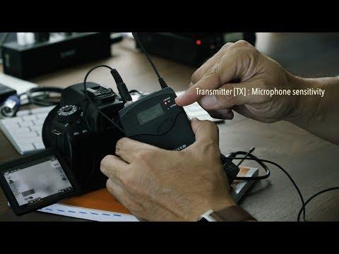 วิธีการใช้งาน Wireless Microphone Sennheiser ew112-P G3