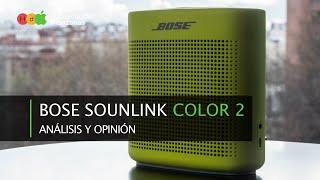 Bose Soundlink Color 2 · Análisis y opinión