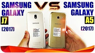 Samsung Galaxy A5 (2017) vs Samsung Galaxy J7 (2017) Кто победил?