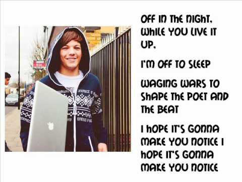 One Direction Use Somebody Lyrics