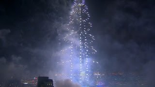 Новый 2015 год в Дубай - 2. Фейерверк. Dubai fireworks New Years.