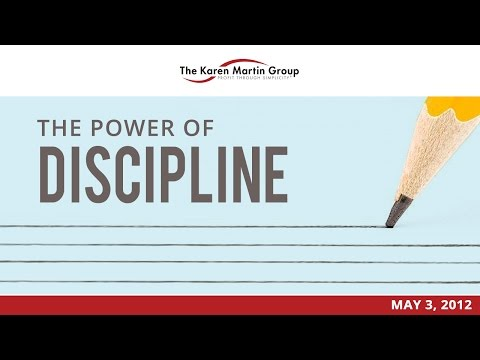 The Outstanding Organization - The Power of Discipline