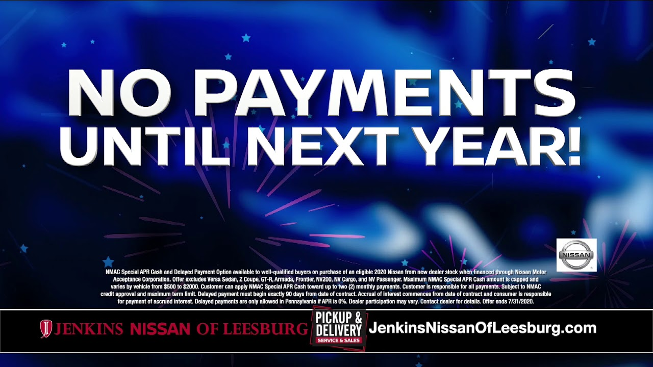 Jenkins Nissan Of Leesburg Holiday Savings Youtube Having had a bad experience with another dealership i was pleased with the experience at jenkins nissan. youtube