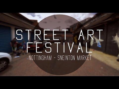 Street Art Festival Nottingham (Official video)
