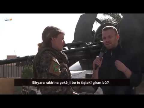 The New International E07 - YPJ on the front against ISIS, Rojava