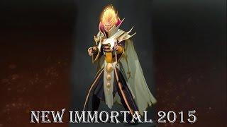 New Immortal 2015 -  Invoker. Новый иммортал на инвокера .