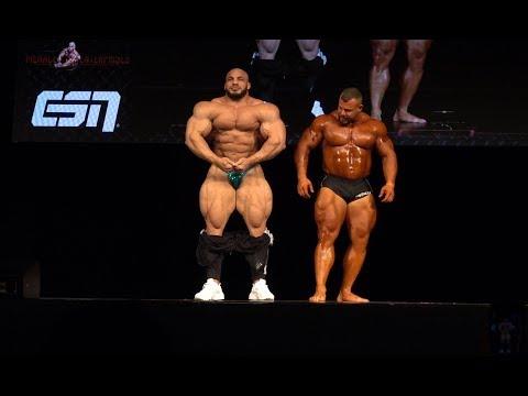 Big Ramy schockiert Frankfurt! 148kg Ramy vs 140kg Adolf