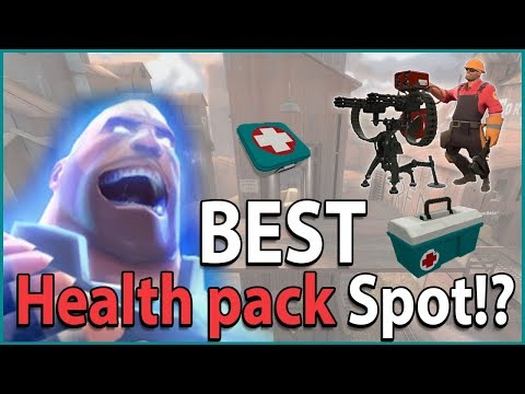 The BEST Health Pack Spot in TF2!? thumbnail