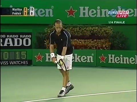 Federer Nalbandian -  Australian Open 2004 QF