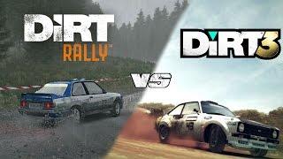 DiRT Rally vs DiRT 3