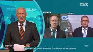Michael Krons und Alexander Kähler zum Ausgang der Landtagswahl in Bayern am 15.10.18