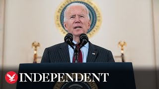 Watch again: Joe Biden marks over 500,000 Covid-19 deaths in the US