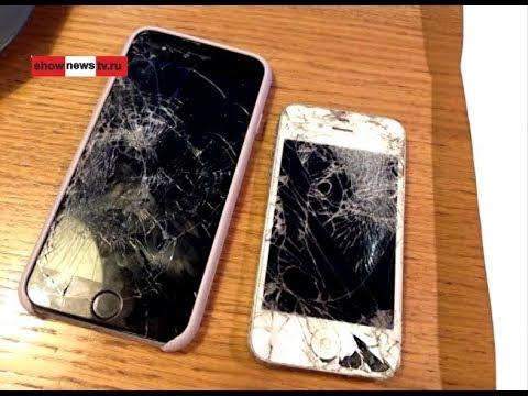 """Таксист грубо выставил девушку и разбил два """"айфона""""?"""