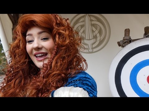 Merida Christmas Meet and Greet 2015 at Disneyland Paris