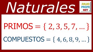 Números primos y compuestos - Prime and composite numbers