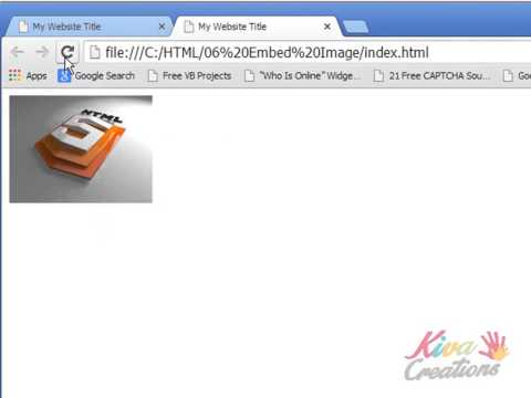 Learn HTML - Embed Image Insert Image Video Tutorial