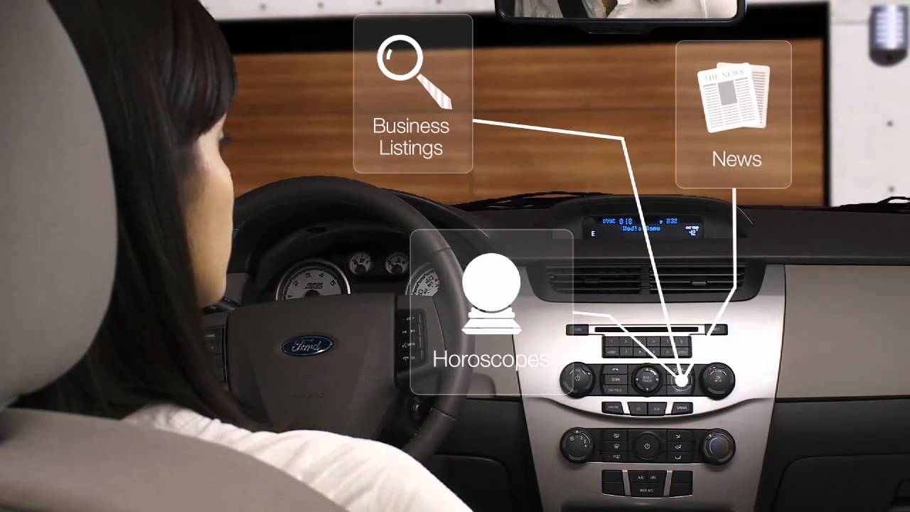 Ford Sync Services Directions Youtube