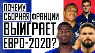Кто победит на Евро 2020 Сборная Франции станет чемпионом Новости футбола Футбол и кубок УЕФА