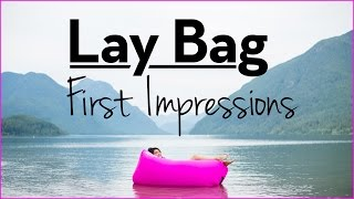 LayBag (Inflatable Outdoor Lounger) First Impressions